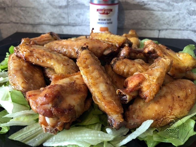 Französische Mais Chicken Wings 800x600