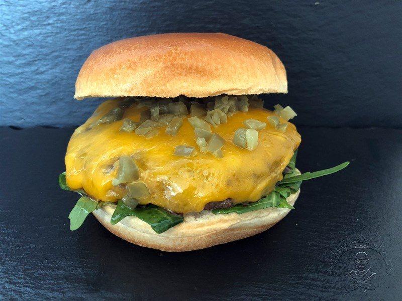 Dry Aged Biru Wagyu Cheeseburger
