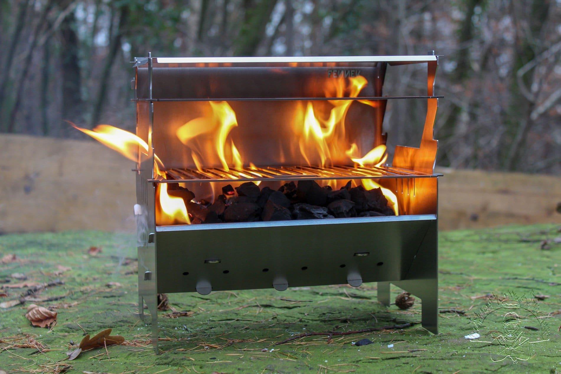Fennek beim Anfeuern