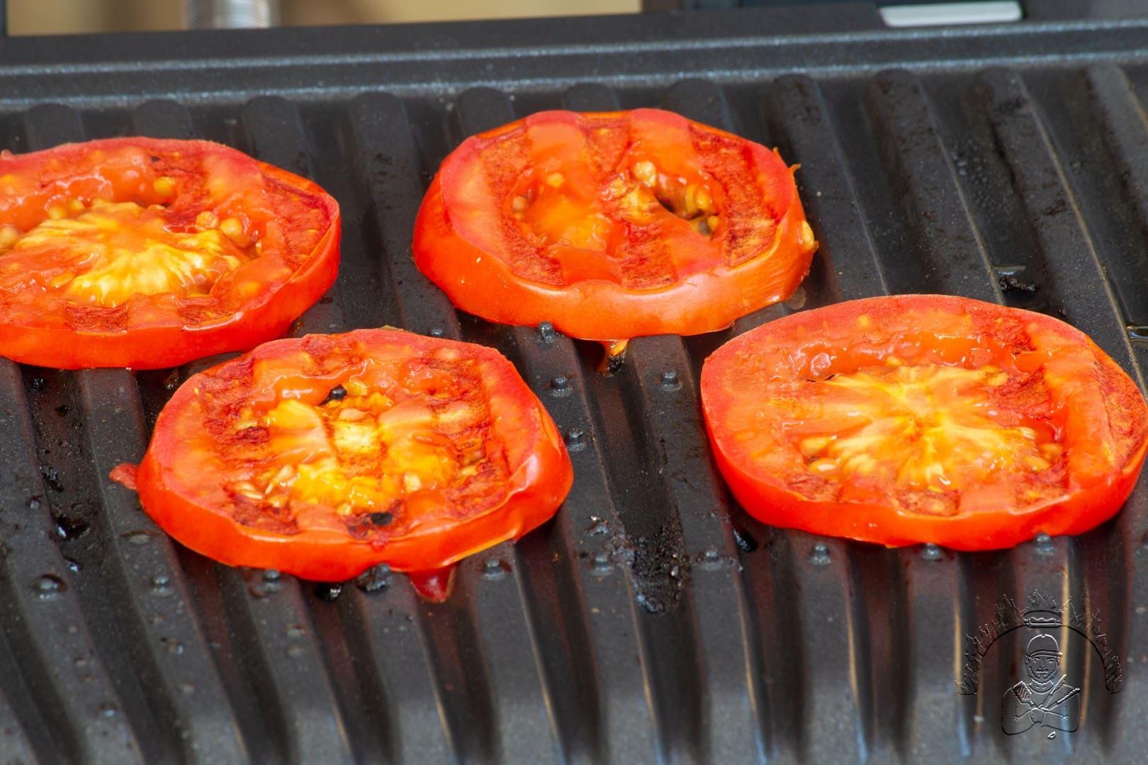 Tomaten auf dem OptiGrill Elite